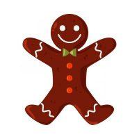 Ballylough Gingerbread man