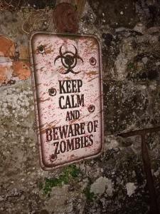 zombia garden entrance